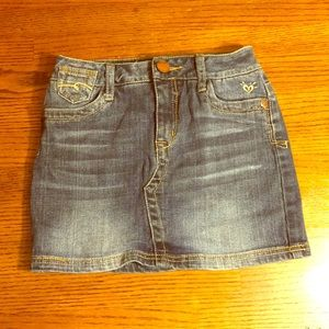 Justice jean skirt